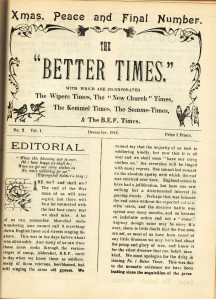 Copy of Better Times Nov 1918