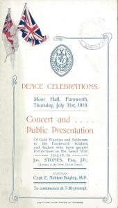 Farnworth Peace Celebrations 1919comp