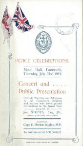 Farnworth Peace Celebrations 1919comp