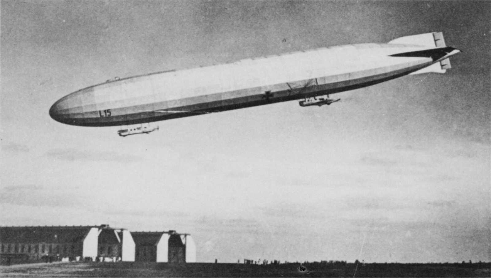 Stretford Council Employee shoots down a Zeppelin – GM 1914