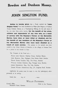 John Sington Fund