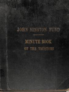 Trustees Minute Book