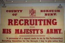 Bury Recruitment Poster/Bury Art Museum