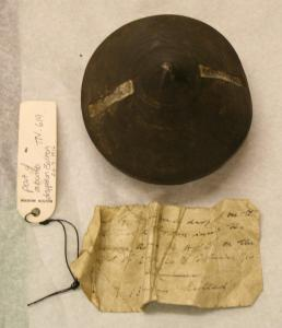 Nose cone of Zeppelin bomb dropped on Bolton