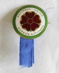 Suffrage Badge belonging to Elizabeth Ann Anderson