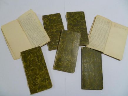 Charles May's diaries
