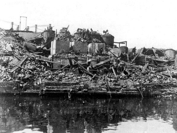 Ashton munitions factory explosion, 1917