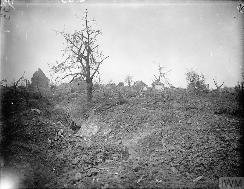 THE BATTLE OF THE SOMME, JULY-NOVEMBER 1916 (Q 4003) Site of Montauban, July 1916. Copyright: © IWM. Original Source: http://www.iwm.org.uk/collections/item/object/205236499