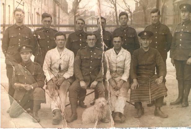 pp. 28-29 John (Jack) Platt is stood in the back row on the far left.